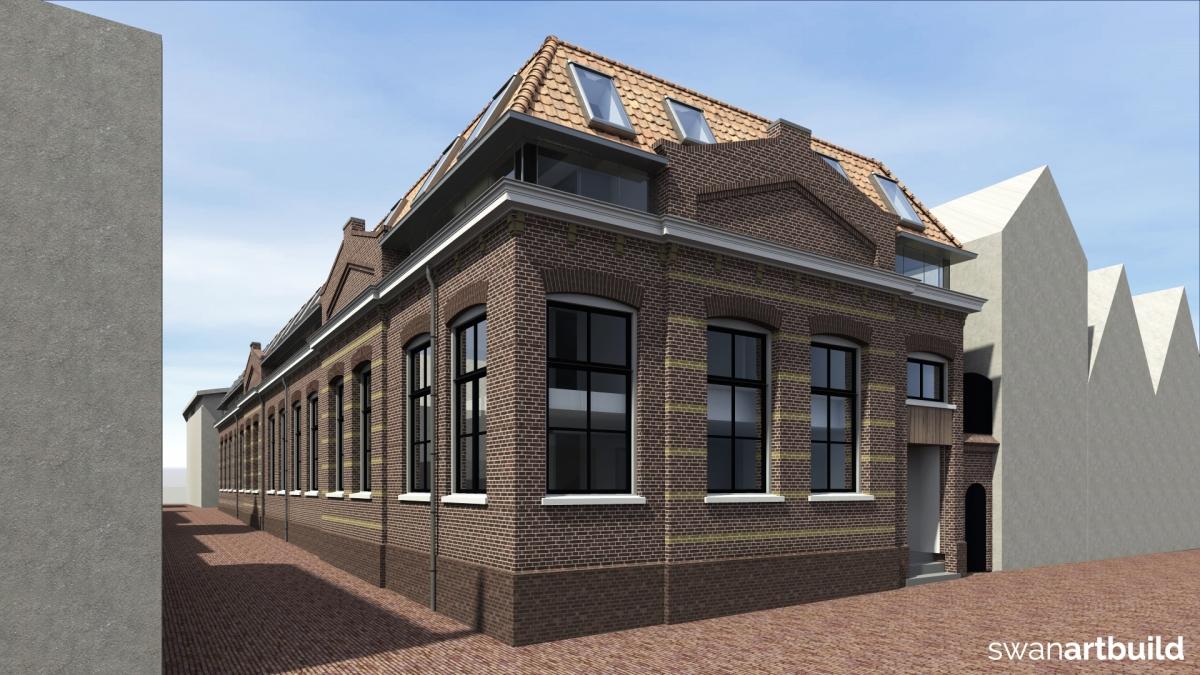 8 stadswoningen in bestaand pand Koningsweg Doelenveld Alkmaar centrum