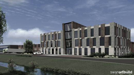 nieuwbouw kantoorpand de tuinen holland and barrett beverwijk