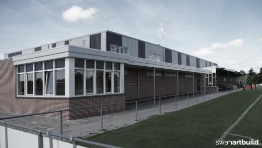 Nieuwbouw sporthal de Doorbraak Warmenhuizen