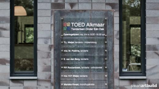 Nieuwbouw tandartsenpraktijk TOED Alkmaar