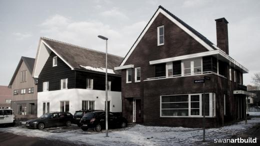 Nieuwbouw vrijstaand woonhuis in jaren dertig stijl te Alkmaar