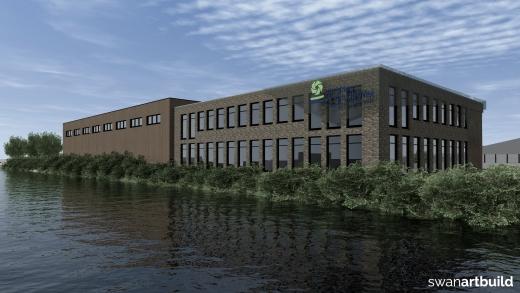 Impressies t.b.v. de verkoop bedrijfslocatie Zuiderkade Beverwijk