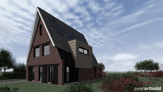 Landelijk gelegen vrijstaand woonhuis in modern landelijke stijl
