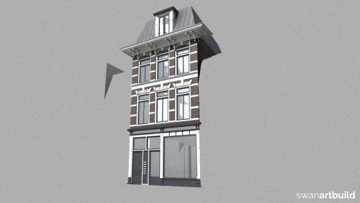 Restauratie beschermd stadsgezicht Zijlstraat 20 Haarlem