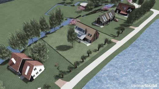 Stedenbouwkundig ontwerp lintbebouwing Westmijzerdijk Schermerhorn