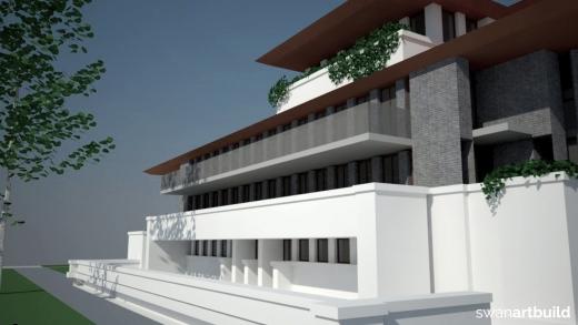 Studie nieuwbouw hotel van der Valk Overbetuwe
