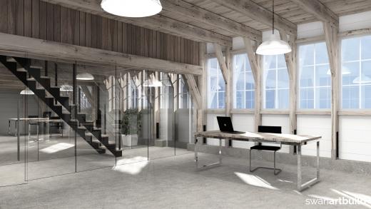 restauratie 200 jaar oude schuur Uitgeest Stokkenfabriek Zonjee