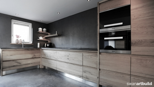 Design Keukens Heemskerk : Interieur woonhuis meubels keuken oud eiken